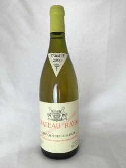 Chateau Rayas Blanc 2000