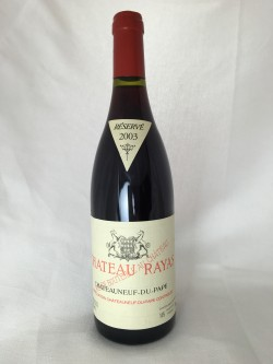 Chateau Rayas Rouge 2003