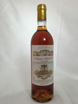 Château Filhot Crème de Tête 1990 Deuxième Cru de Sauternes