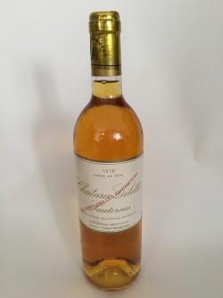 Château Gilette Crème de Tête 1978  Sauternes