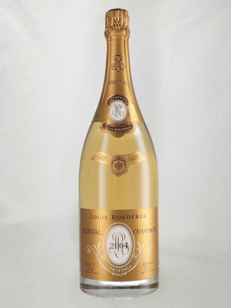 Champagne Cristal Roederer 2004 Blanc Magnum